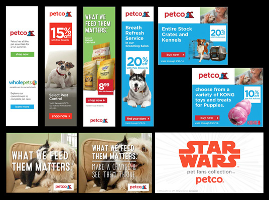 Banners for Petco® with MunsonDesign